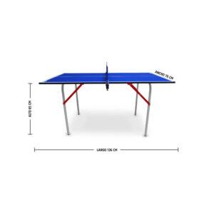 Mesa de Ping Pong Larca Mini, Medidas