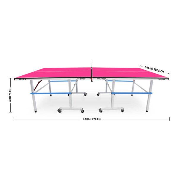 Mesa de Ping Pong XTT Street Pink