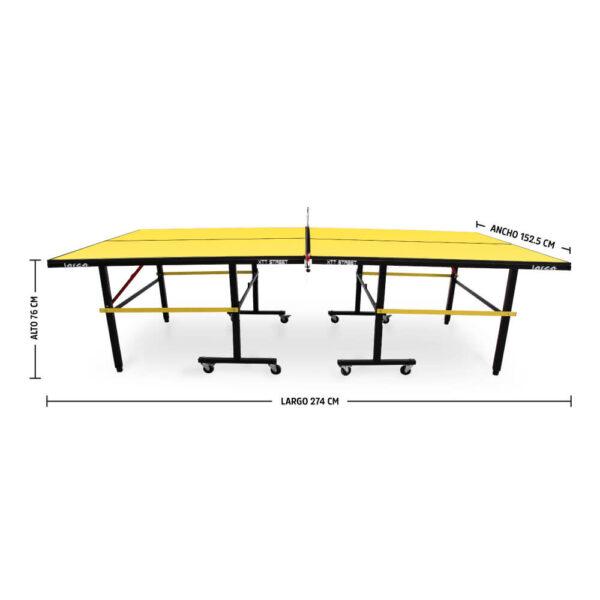 Mesa de Ping Pong XTT Street Yellow