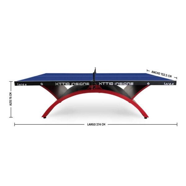 Mesa de Ping Pong XTT10 Insigne Abierta