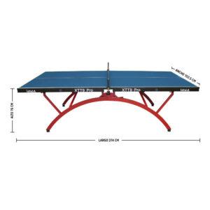 Mesa de Ping Pong XTT9 Rainbow Abierta