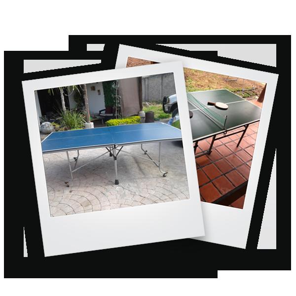 envianos fotos de tu mesa de ping pong