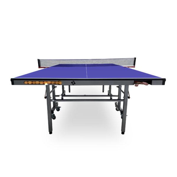 Mesa de Ping Pong para interior con raquetero