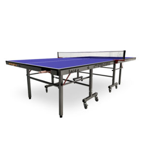 Mesa d eping pong para interior con pelotero y raqutero