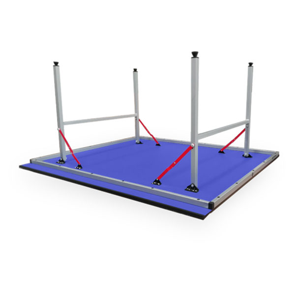 Mesa de Ping Pong Larca Lista para jugar