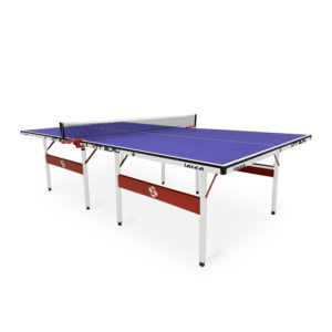 Mesa de Ping Pong Lista para Jugar Lateral