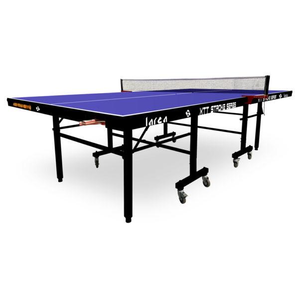 Mesa de Ping Pong con pelotero y raquetero negra