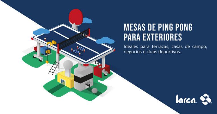 Portada Infografía Mesas de Ping Pong para Exteriores